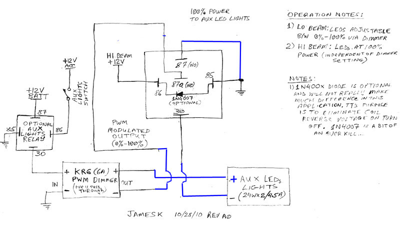AuxLEDLightsRelayDiagramrev 1 L rigid ind dually led aux lights parts and accessories fjrforum clearwater lights wiring diagram at bakdesigns.co